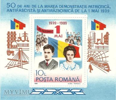 1 Maja - Rumunia - 1989 r.