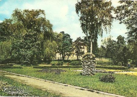 Pocztówka-park miejski
