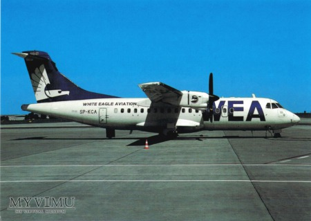 ATR-42-300, SP-KCA, White Eagle Aviation