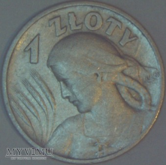 1zł 1925 Polska II RP