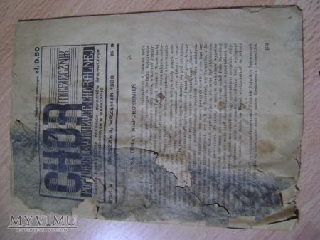 Miesięcznik (CHÓR) wrzesień 1938