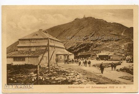 Karkonosze Śnieżka Schneekoppe Schlesierhaus 1927