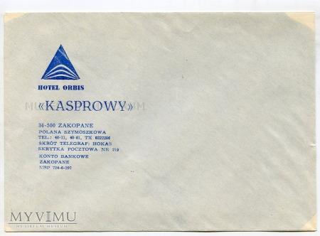 """Zakopane Hotel Orbis """"Kasprowy"""" - 1974"""