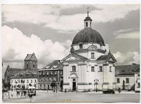 W-wa - Kościół Sakramentek - 1962