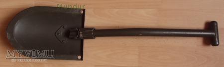 Szwedzka metalowa łopatka z nakładką