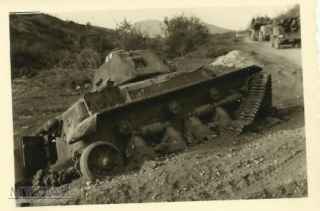 Duże zdjęcie Wrak czołgu