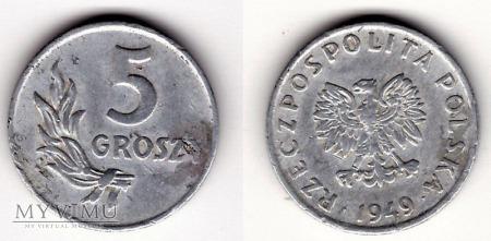 1949, 5 gr aluminium