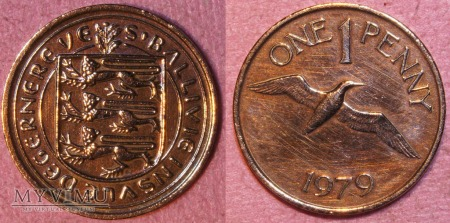 Guernsey, 1 Penny 1979