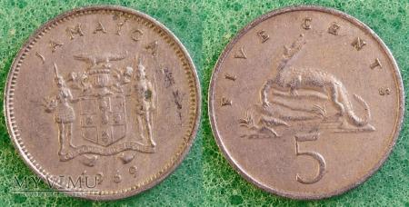 Jamajka, 5 Centów 1969