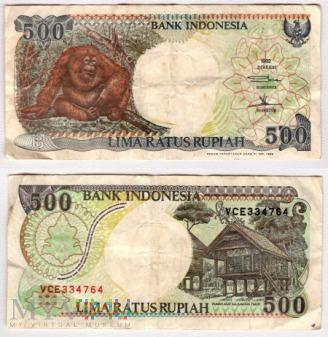 Indonezja, 500 rupii 1992r