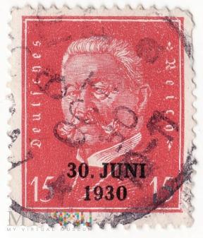 Deutsches Reich - Paul von Hindenburg 1928
