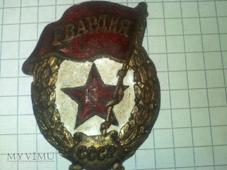 odznaka gwardyjska