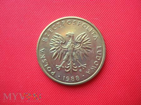 5 złotych 1988 rok