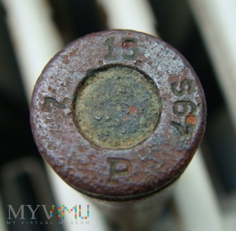 Łuska 7,92 x 57 mm Mauser 15 S67 P 7