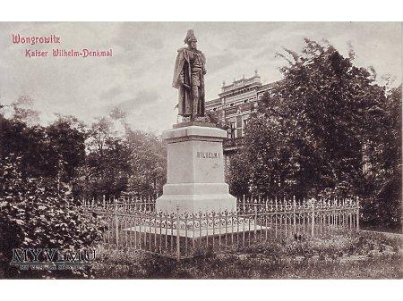 Wągrowiec pomnik Cesarza Wilhelma