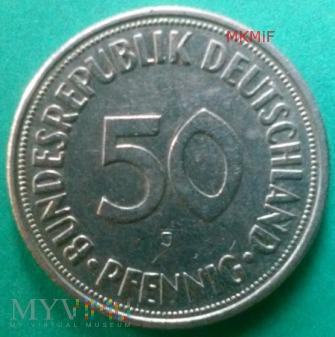 Duże zdjęcie 50 Pfennig RFN 1970