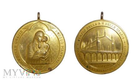 Włoski medal religijny