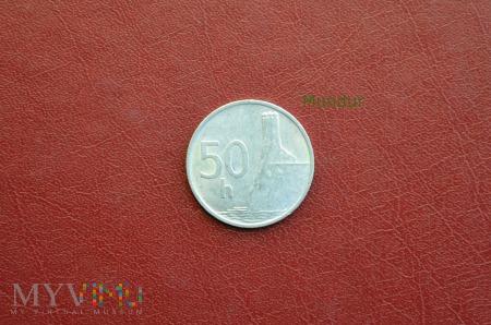 Moneta słowacka: 50 halerzy