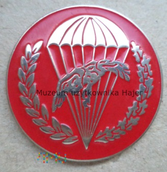 Odznaka spadochronowa WPD 6 PDPD czerwona