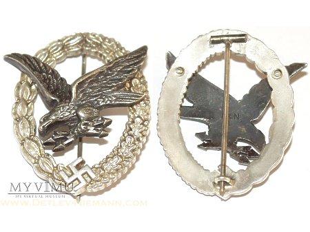 Luftwaffe - Odznaka Strzelca Radiotelegrafisty