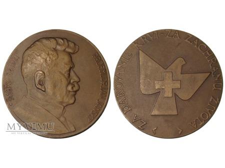 Medal brązowy Jana Janskiego (Janského plaketa)