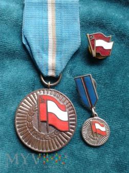 Medal Za Zasługi w Umacnianiu Przyjaźni PRL-ZSRR