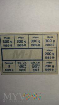 Talon na mięso- reglamentacja towaru -M1