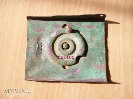 Klamra CK z nakładanym orłem z zapięciem kołowym