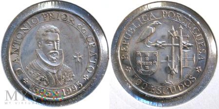 Portugalia, 100 ESCUDOS 1995