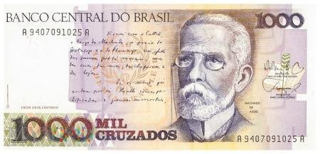 Brazylia - 1 000 cruzados (1988)