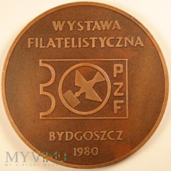 1980 - Wystawa Filatelistyczna Bydgoszcz - awers
