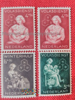 Duże zdjęcie pomoc zimowa Holandia 1944