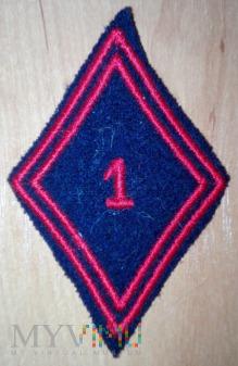 1 Regiment du Genie - inżynieryjny - wzór 45