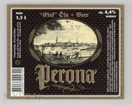 Estonia, Perona Beer