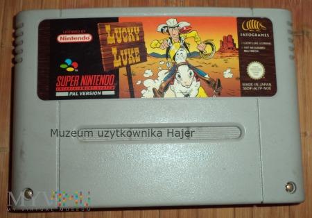 Lucky Luke - kartridż SNES Nintendo