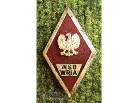 Odznaka WSO WRiA
