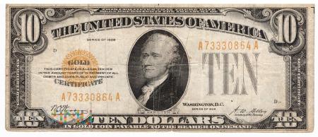 Stany Zjednoczone - 10 dolarów (1928)