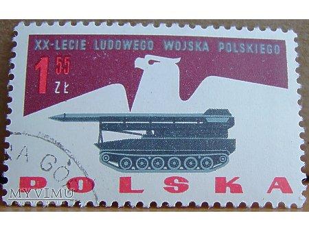 Wyrzutnia rakiet na znaczku