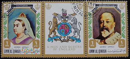 Umm al Qiwain Brytyjscy monarchowie