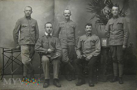 Legioniści obóz internowania