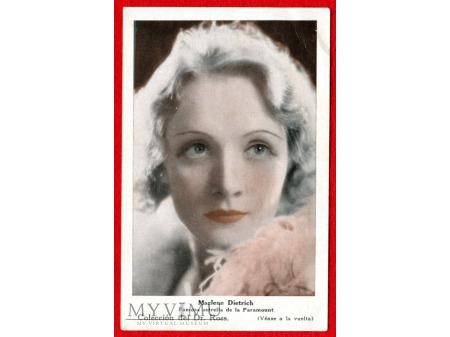 Duże zdjęcie Marlene Dietrich Compañía Argentina Sydney Ross S.