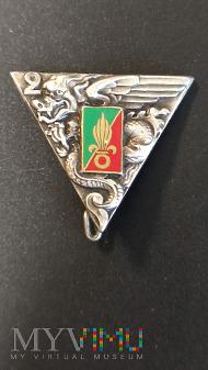Odznaka 2 Pułku Spadochroniarzy Legii Cudoziemskie