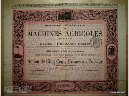 Akcja na okaziciela na pięćset franków
