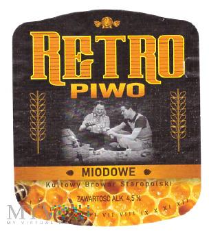 RETRO Piwo Miodowe