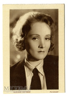 Marlene Dietrich Edizioni Kinema L. Patuzzi Milano