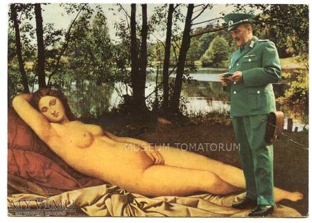 Giorgione - Venus śpiąca w lesie doigrała się