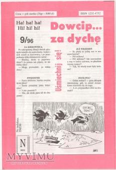 Dowcip...za dychę 9/96