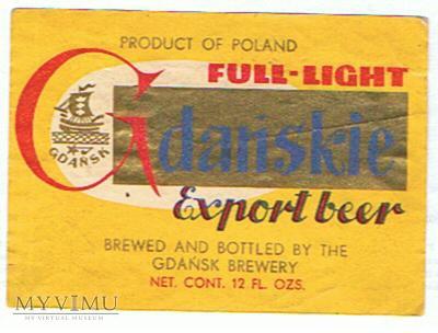 gdańskie export beer