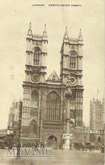 Londyn - Katedra Westminsterska - 1918 r.