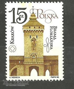 Brama Floriańska.